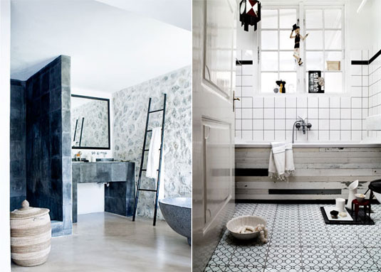 5 Gorgeous Scandinavian Bathroom Ideas: Interior Design Inspiration: Bathrooms