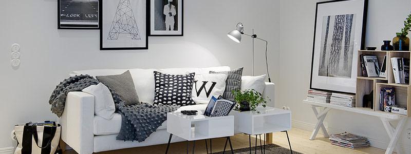 Black And White Interior Banner Nordicdesign