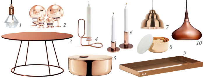 Great Copper Home Accessories