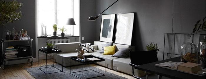 Dark and moody interior - NordicDesign
