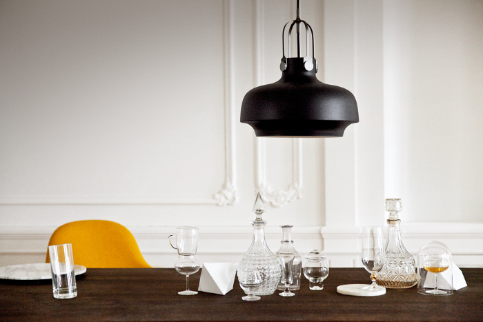 New Light by Space Copenhagen inspired by nautical oil lamp