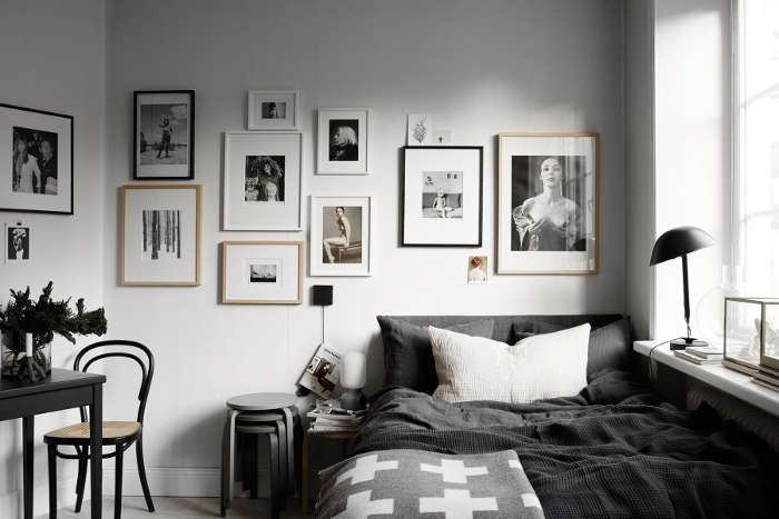Beautiful Monochromatic Rooms by Lotta Agaton