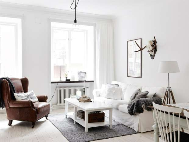 Vintage chic apartment in Sweden_1