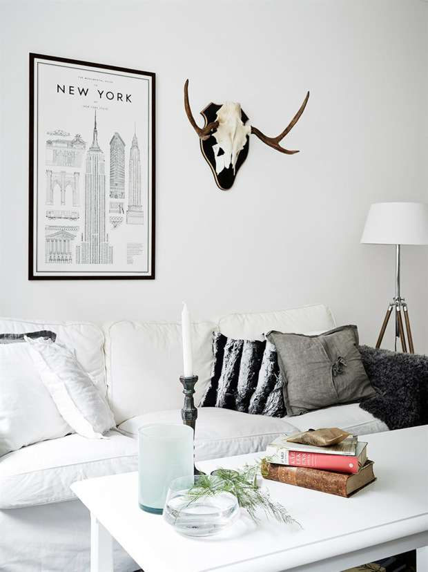 Vintage chic apartment in Sweden_2