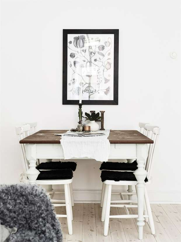 Vintage chic apartment in Sweden_3