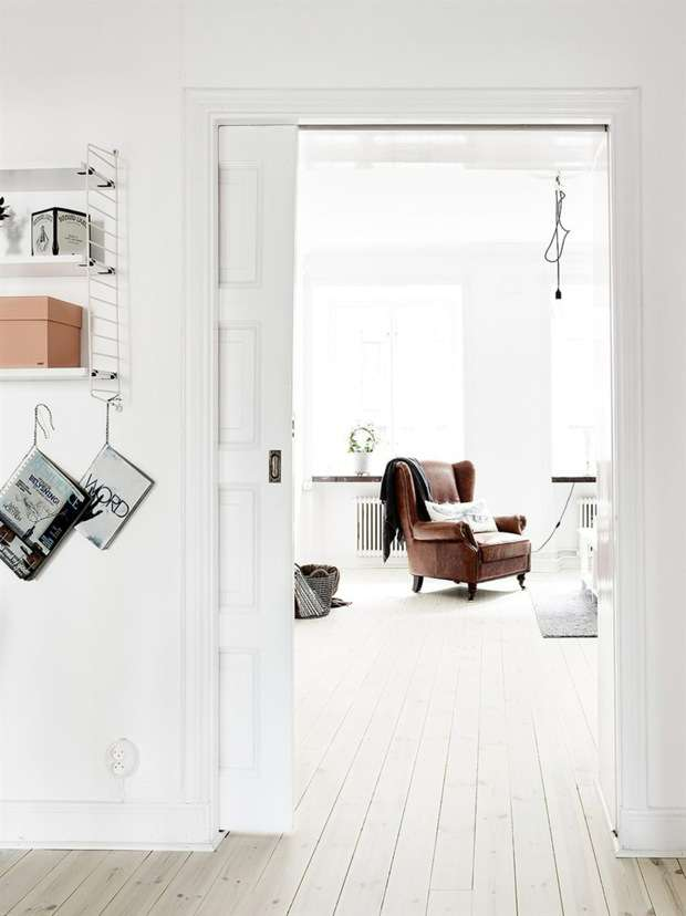 Vintage chic apartment in Sweden_5