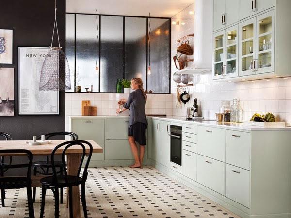 Beautiful-Mint-Kitchen-6