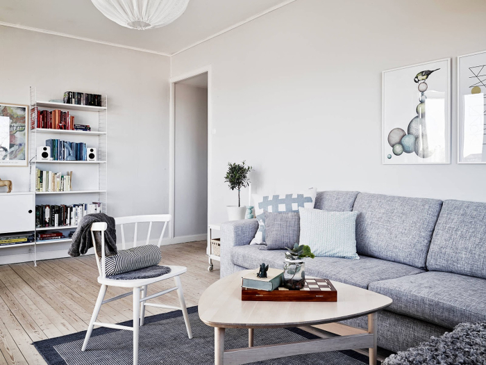 Light, airy and charming apartment in Sweden_3
