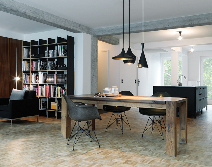 Stylish sixties apartment in Hamburg_1