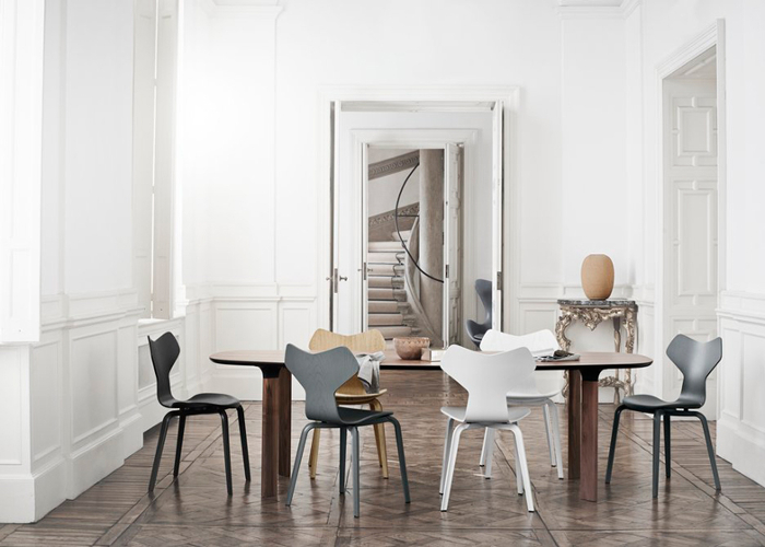 Iconic Arne Jacobsen chair reintroduced with a new twist_1
