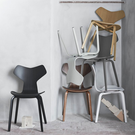 Iconic Arne Jacobsen chair reintroduced with a new twist_2