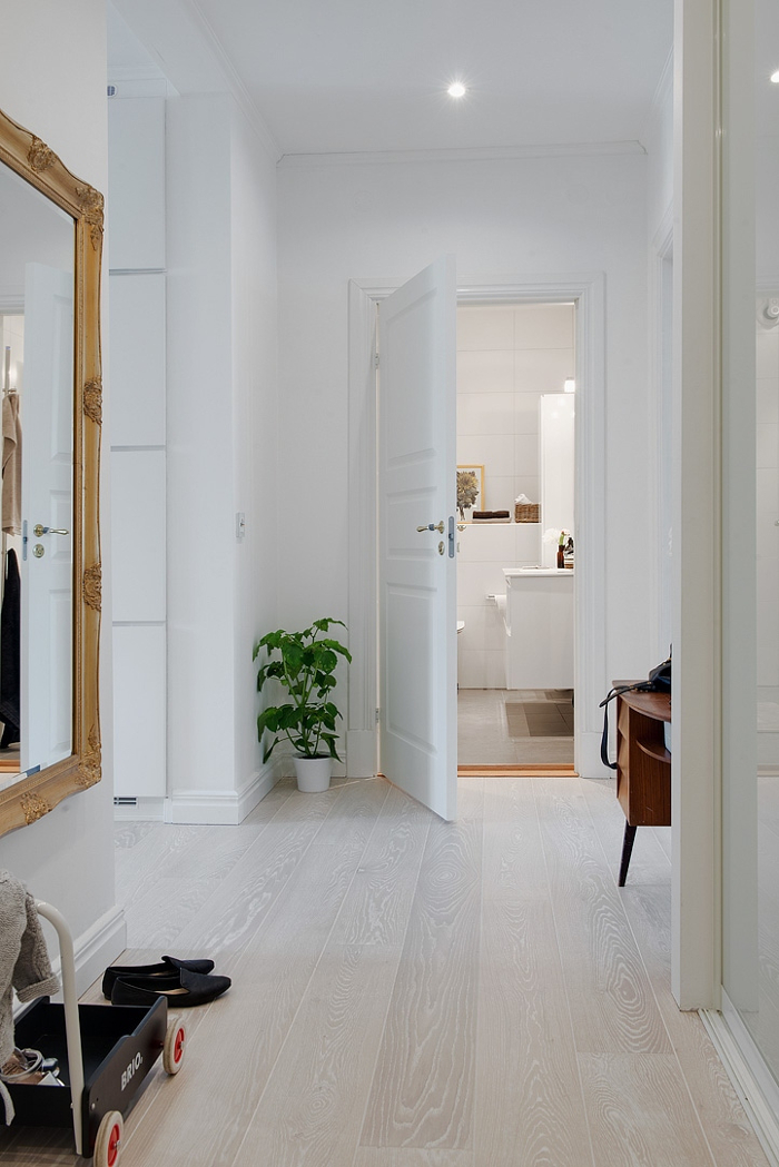 Pretty White and Grey Apartment in Sweden_10