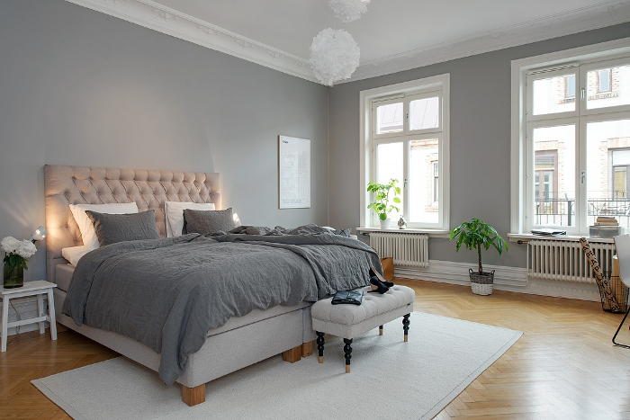 Pretty White and Grey Apartment in Sweden_3