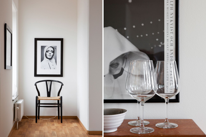 Classicly elegant apartment in Sweden_5