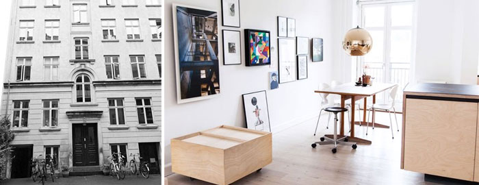 The Home Of Naja Tolsing From All The Way To Paris Nordicdesign