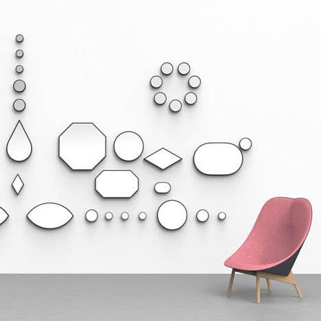 Jewel-like mirrors by Doshi Levien for Hay_1