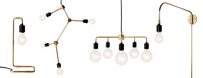 industrial inspired lighting. I\u0027m A Big Sucker For Sculptural Chandelier With Vintage Bulbs, Especially Those By Lindsey Adelman, But I Haven\u0027t Got The Budget Her Stunning Pieces. Industrial Inspired Lighting