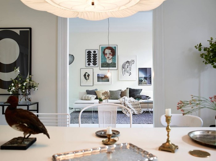 Swedish apartment with a fun and playful styling _3