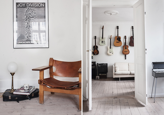 The Bohemian Chic Apartment of Two Danish Musicians_3