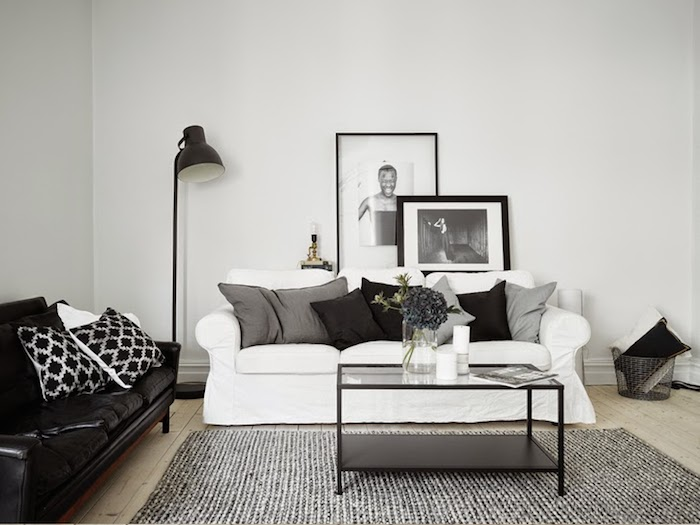 A majestic Swedish home in black, white and grey_4
