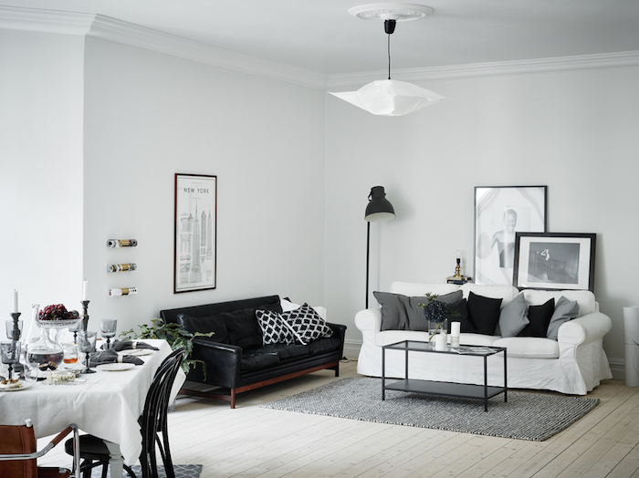 A majestic Swedish home in black, white and grey_9