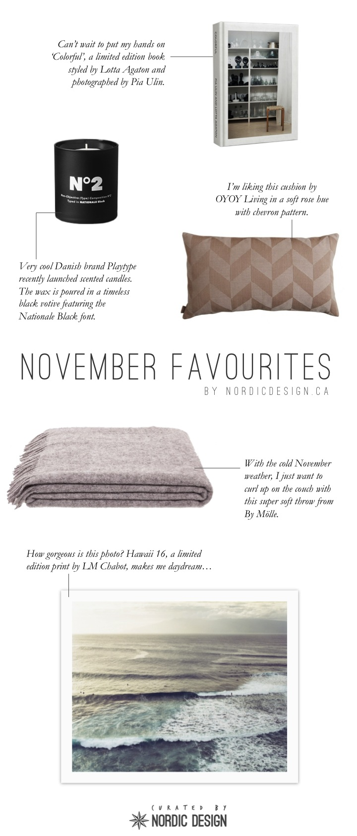 November list curated by Nordic Design