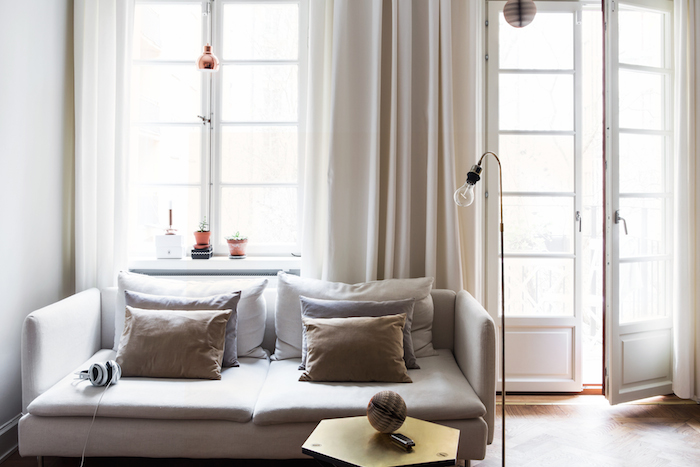 Chic city apartment in Sweden with a touch of elegance_1