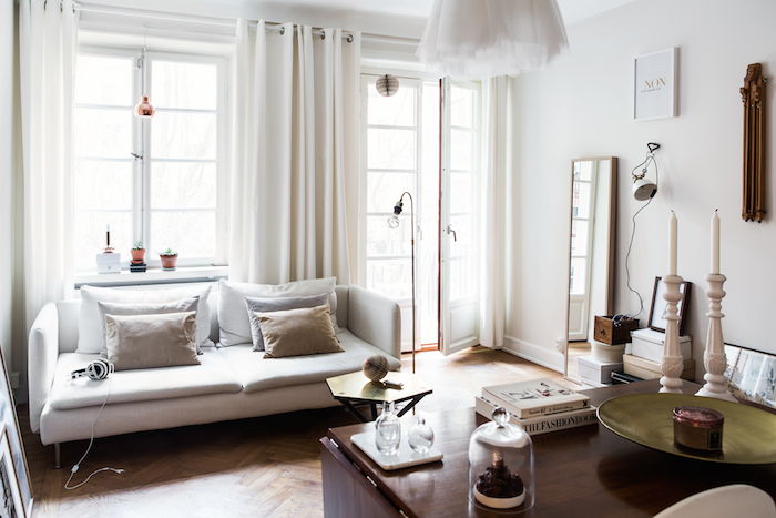 Chic city apartment in Sweden with a touch of elegance_2