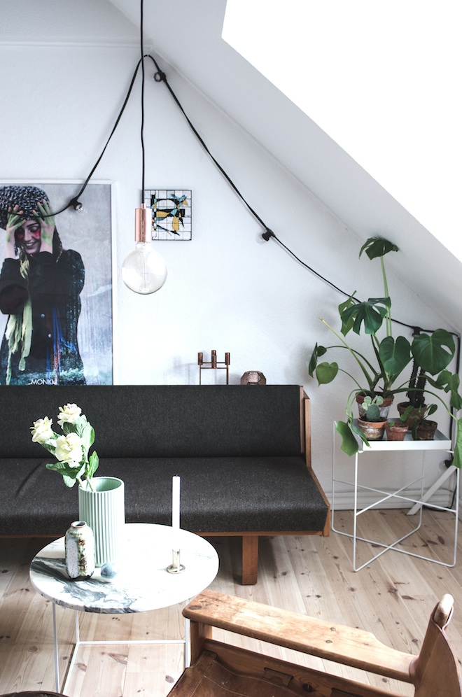The relaxed home of a Danish student_1