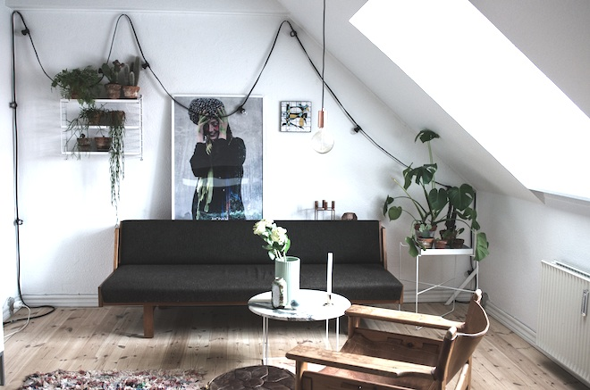 The relaxed home of a Danish student_3