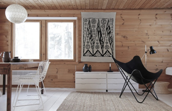 Wooden summer cottage in Finland_1