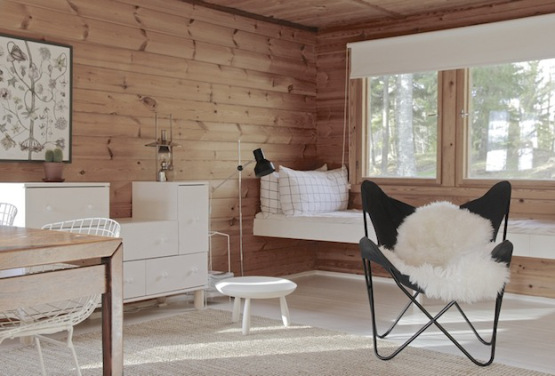 Wooden summer cottage in Finland_2