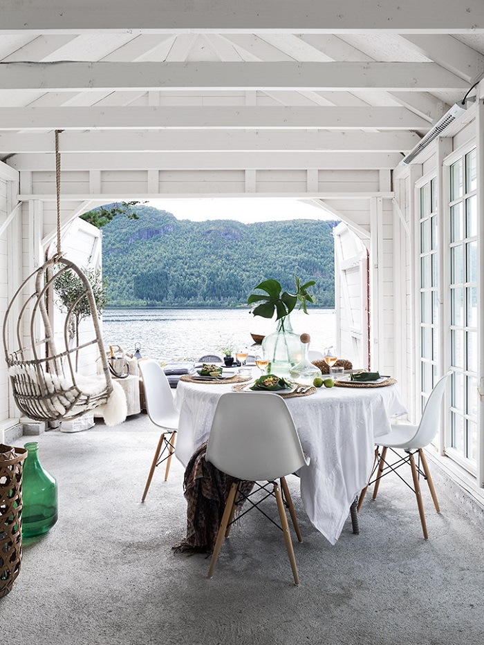 Beautiful and Luminous Boat house in Norway_1