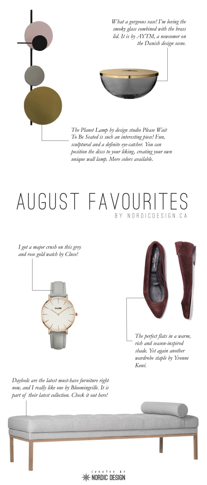 Monthly List August 2015
