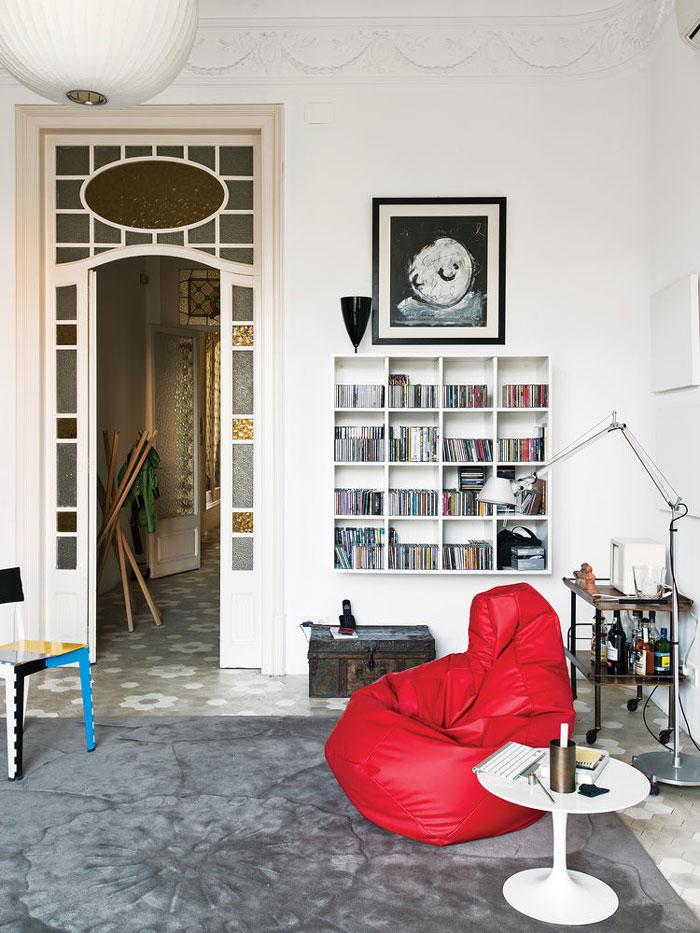 Scandinavian Design In An Art Nouveau Barcelona Apartment