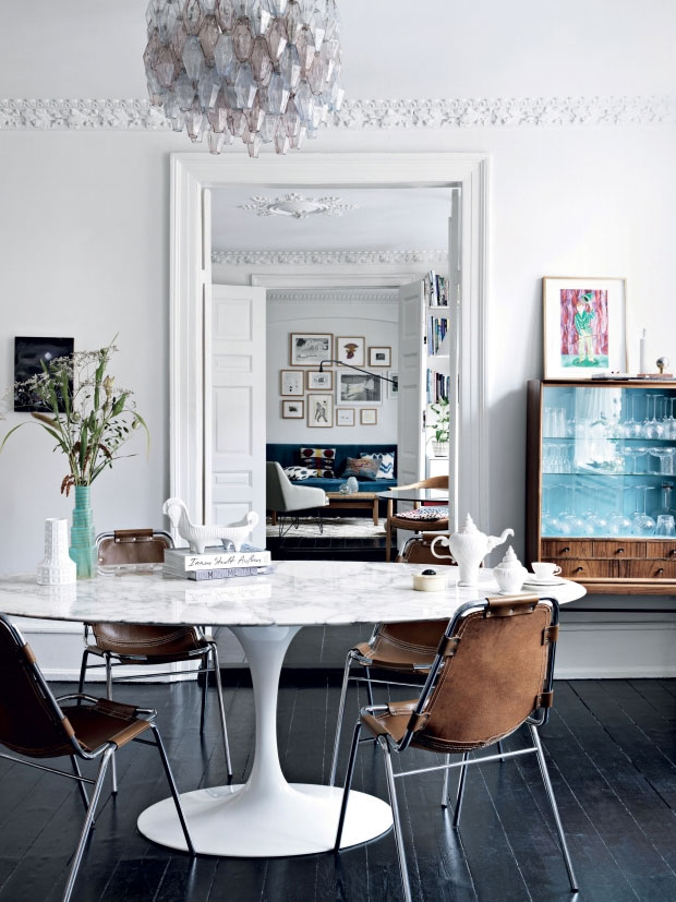 The Eclectic Chic Home of a Danish Fashion Design