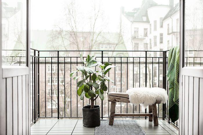 Scandinavian home with a modern monochrome interior_2