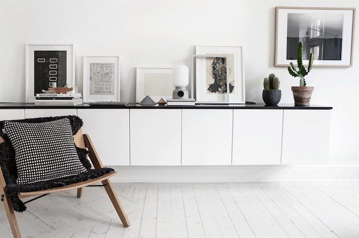 Scandinavian home with a modern monochrome interior_3