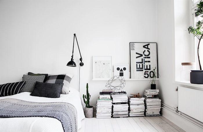 Scandinavian home with a modern monochrome interior_6