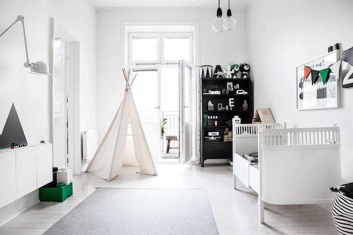 Scandinavian home with a modern monochrome interior_7