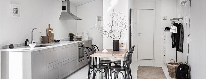 Serene And Simple 40 Square Meter Apartment Nordic Design