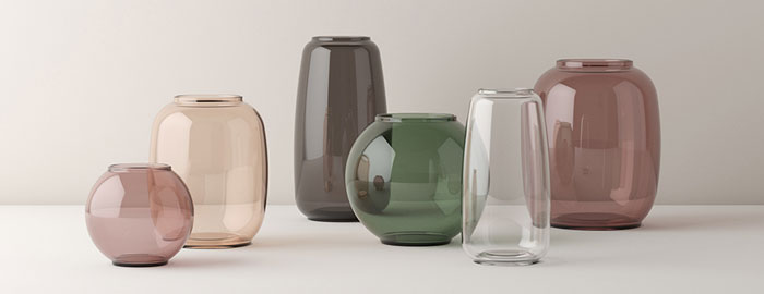 Lyngby Porcelain Launches Form An Elegant Glass Vases Series