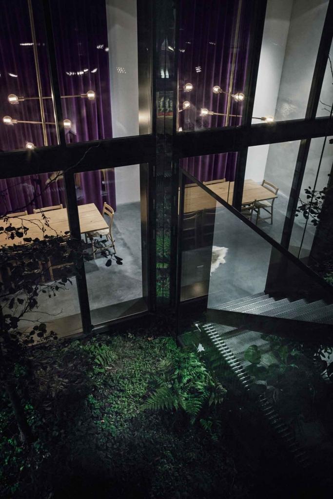 An amazing modern house with an atrium_2