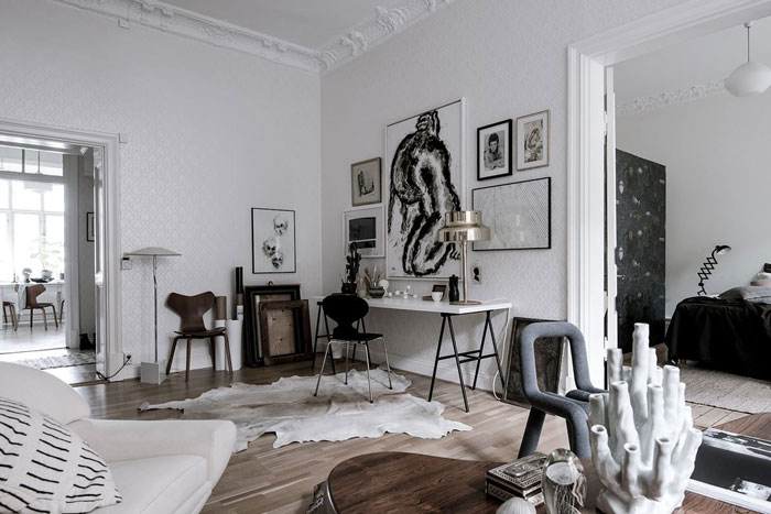 A Beautiful Eclectic Home Filled With Art Nordicdesign