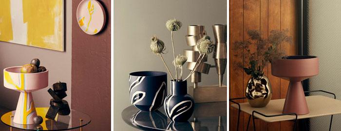 Fantastisk Stine Goya Designs Series of Ceramic Vases and Pots for Kähler QW48