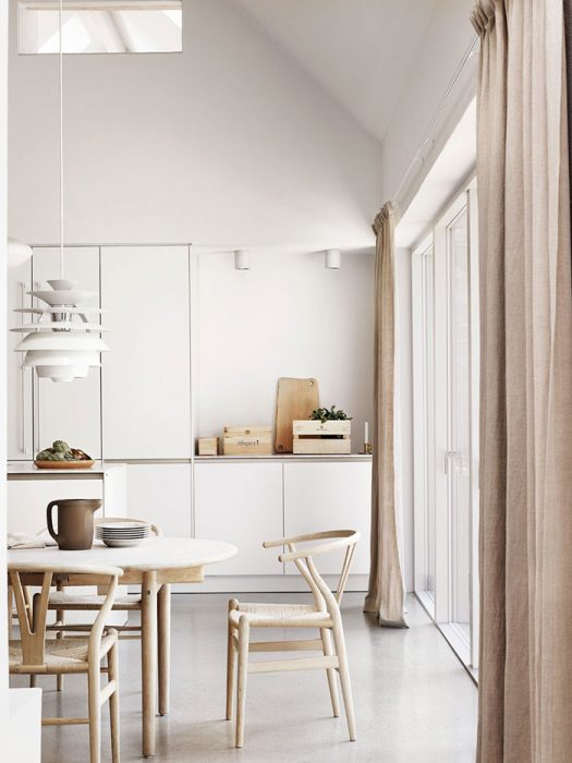 Tour a Beautiful and Harmonious Scandinavian Home in Natural Shades