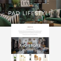 Living Home Zeitschrift homepage nordicdesign