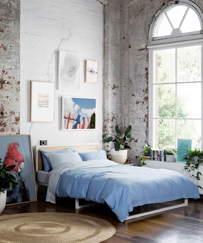 Appartment Hunting: Inspiring Warehouse Apartment Beautifully Styled By