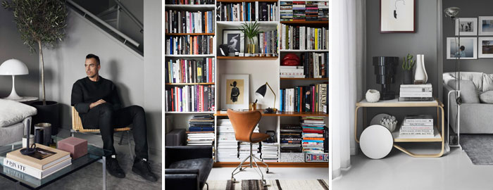 This Is The Home Of Daniel Lindström, The Fashion Editor Of Online Magazine  Café. His Home, Which He Shares With His 3 Children, Has A Cozy And  Cocoon Like ...