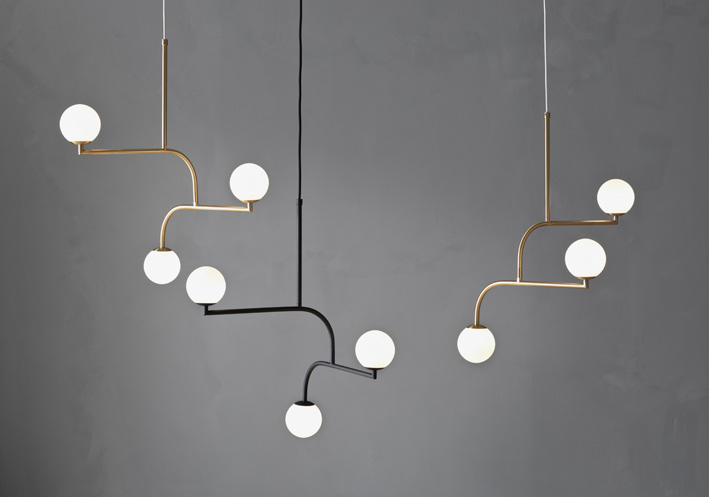 Ive spotted this beautiful pendant lamp in several scandinavian interiors lately and i predict well see it increasingly in the coming months